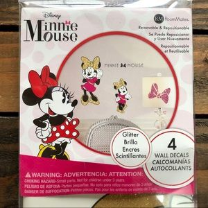 🎉5/$25🎉Minnie Mouse Wall Decals